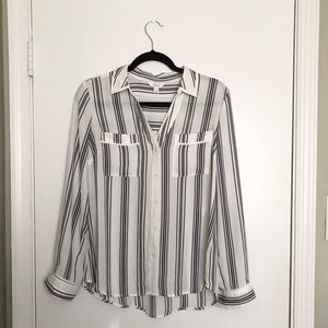 NWOT Candies Button Up Blouse
